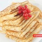 Pancakes from Spelt Wheat Flour