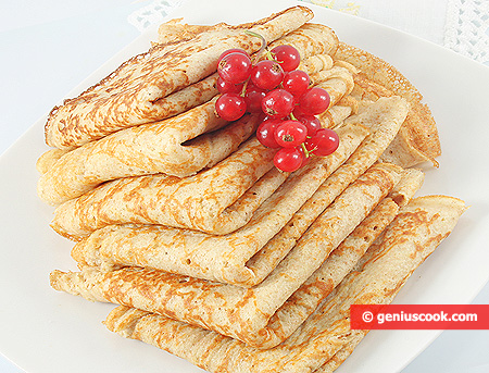Pancakes from Spelt Wheat Flour