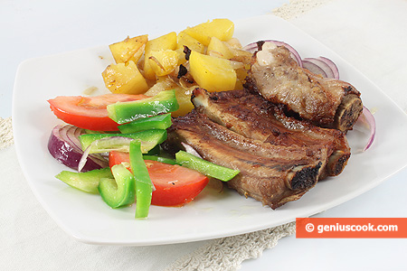 Pork Ribs with Potatoes