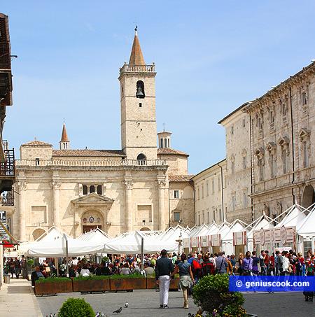 Arringo Square in Ascoli Piceno
