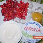 Ingredients for Strawberry Dessert