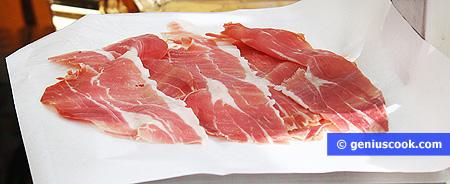 Prosciutto - Uncooked jerked pork ham