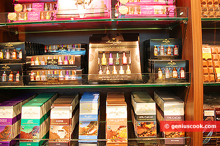More Liqueurs and Chocolate with all sorts, shades of flavors