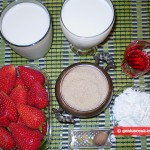 Ingredients for Malabi Cream Mousse