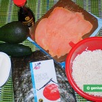 Ingredients for Philadelphia Rolls