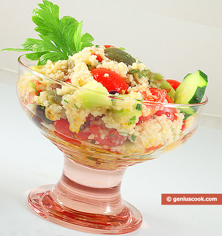 Tabouleh salad with couscous