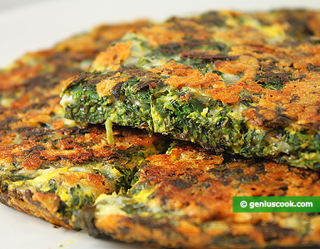 Frittata with Spinach and Cheese