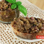 Aubergine Paste with Capers and Olives