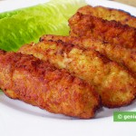 Chicken Cutlets with Pesto Sauce