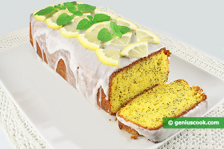 Lemon Cake with Poppy