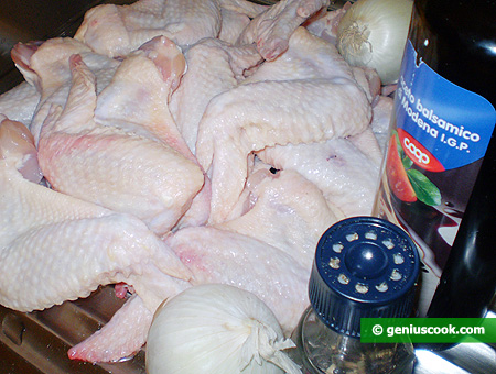 Ingredients for Grilled Chicken Wings