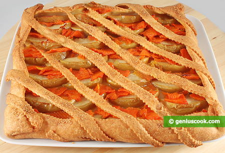 Apple and Pumpkin Tart