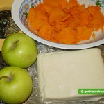 Ingredients for Apple and Pumpkin Tart