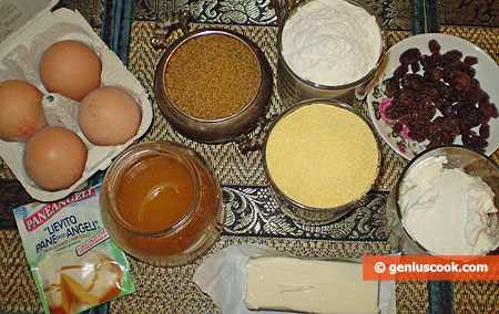 Ingredients for Corn Cupcakes