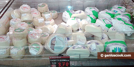 Great variety cheeses