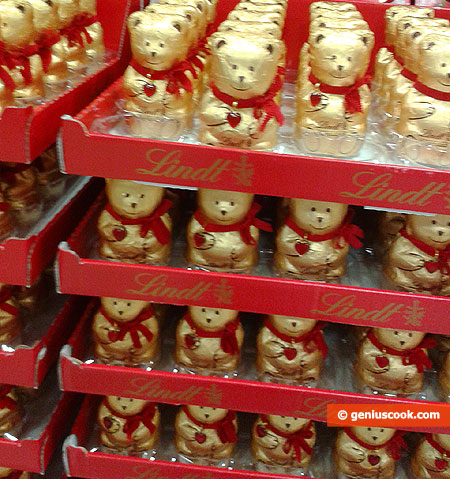 Lindt chocolate bears battalions