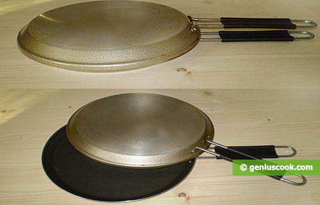 double frying pan for frittata