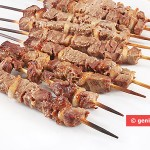 Lamb kebabs Arrostichini