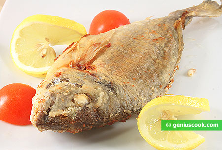 Pan-fried Gilthead Bream