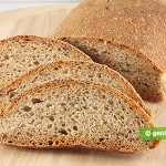 Whole Wheat Bread with Flax Seeds and Sesame