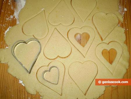 Cut cookie