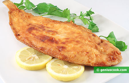 Pan-fried Fish Sole