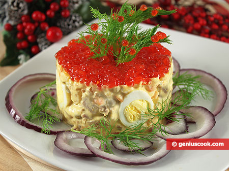 Olivier Salad, Festive Version