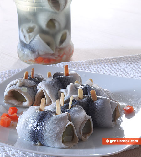 German Herring Rollmops