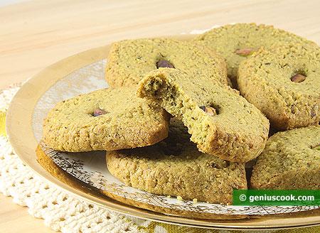 Pistachio Cookies Mona Lisa