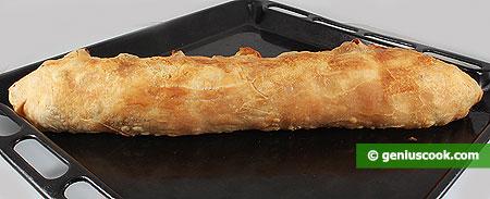 Baked strudel