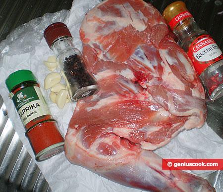 Ingredients for Roast Lamb Shoulder
