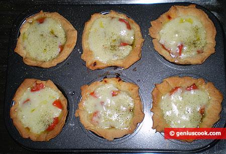 Margherita Mini Quiches are ready