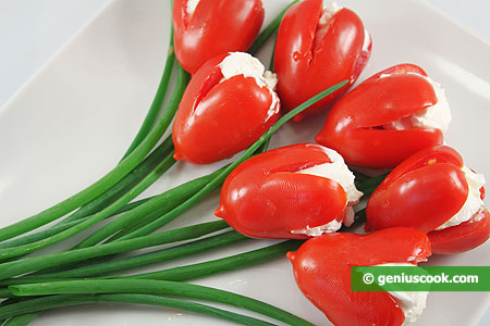 The Appetizer Tomato Tulips