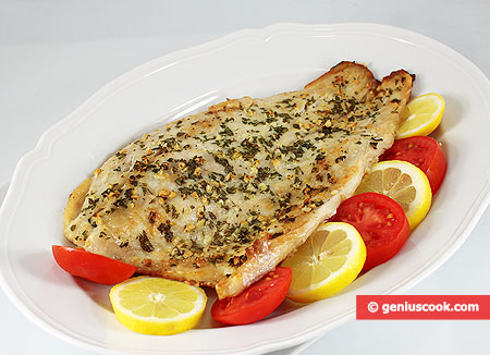 Baked Nile Perch with Gremolata