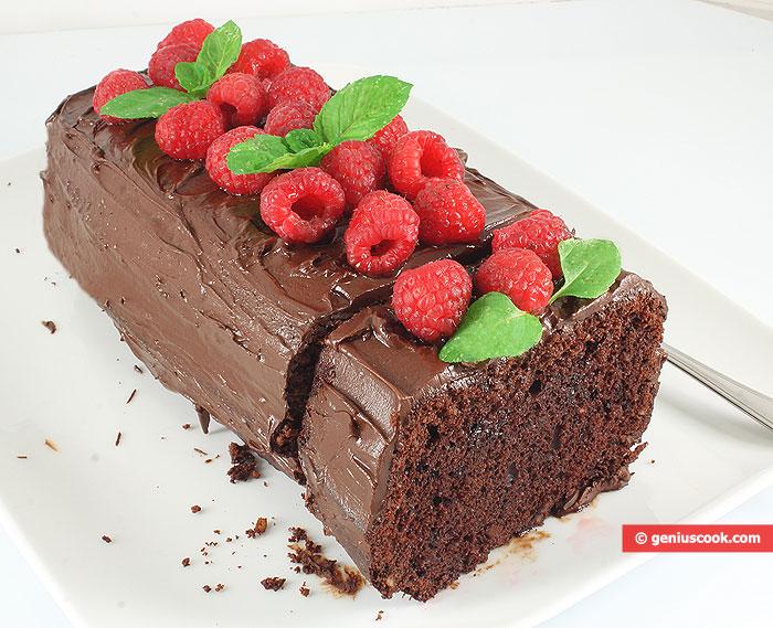 Сhocolate Сake with Raspberry