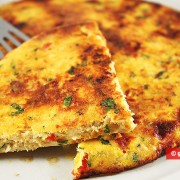 Chicken Frittata with Tomatoes