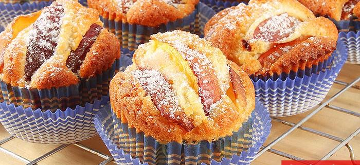 Nectarine Muffins