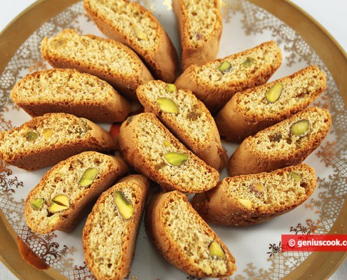 Cantuccini with Pistachios