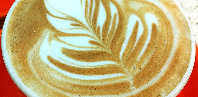 Latte Art from Barista Dritan Alsela