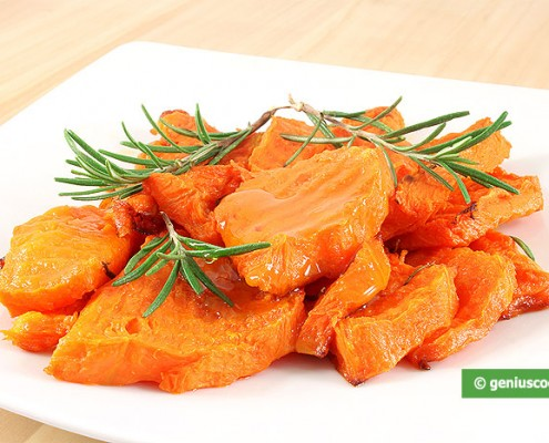 Baked Pumpkin with Rosemary
