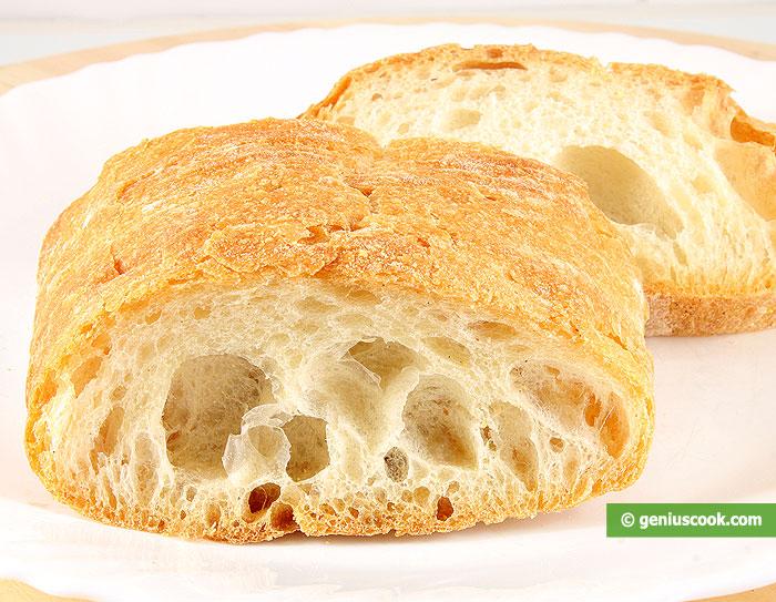 Italian Bread Ciabatta