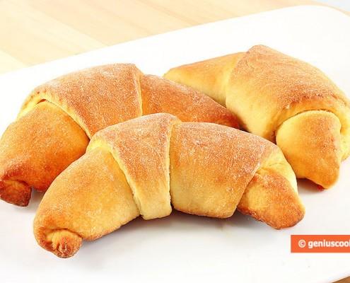 Italian Croissants Cornetti with Quince Jam