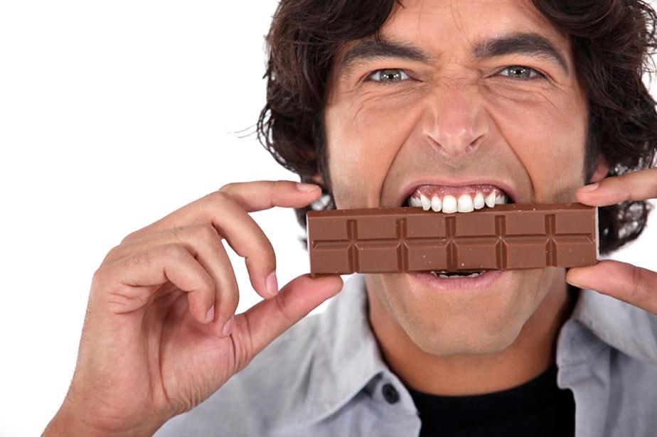 chokolade-bar-man