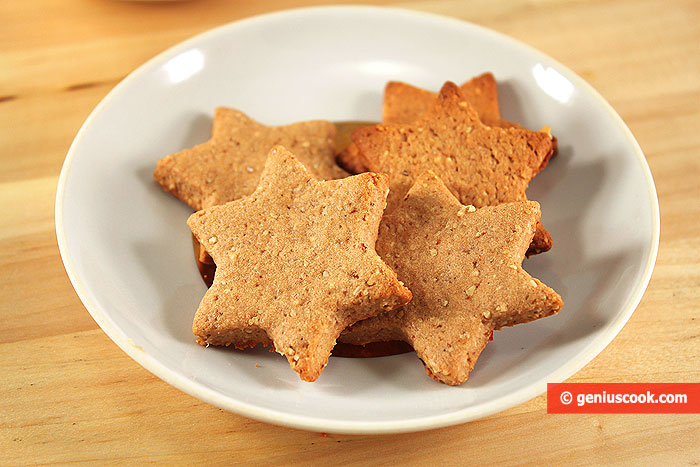 Shortbread Cookies with Hazelnuts