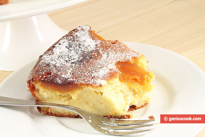 Ricotta Cake with Dried Apricots