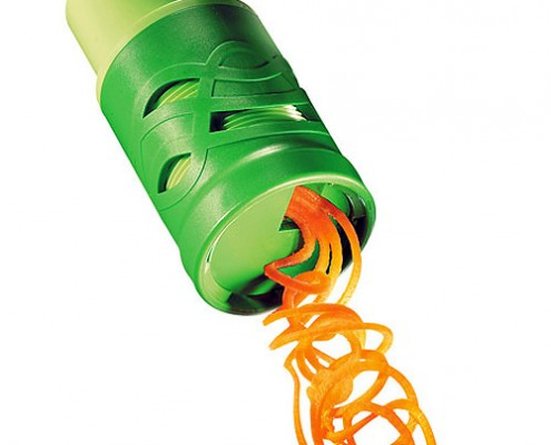 Twister gadget for vegetables