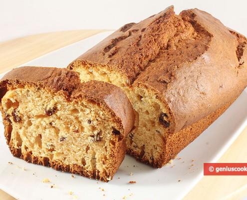 Honey Cake with Raisins and Flax Seeds