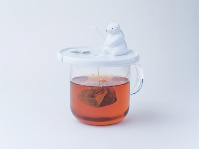 Bear - the holder of tea bags