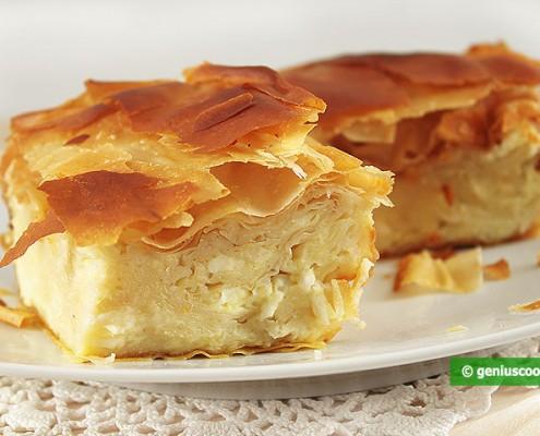 Gibanica Serbian Cheese Pie