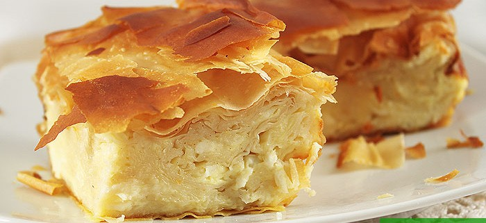Gibanica Serbian Cheese Pie